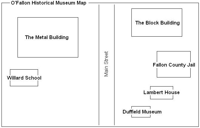 Map of museum